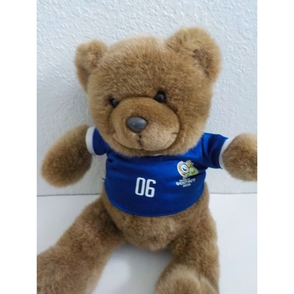 Vintage Other - 2006 FIFA World Cup Germany Plush Bear